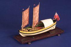 Service vessel; Gravesend tilt boat(circa 1650) - National Maritime Museum