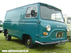 Clegg used a similar van like this to collect Miranda from London and bring her to his house in Lewes. The method he used to get Miranda into his car was similar to both scenarios in real life and in The Silence of the Lambs. Vintage Vans, Vintage Trucks, Classic Chevy Trucks, Classic Cars, Austin Cars, Vanz, Day Van, Automobile, Cool Vans