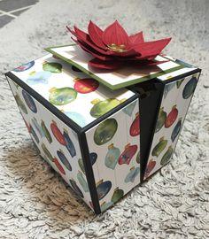 Boîte à étiquettes de Noël et son tuto ☃️ – Scrap with Steph