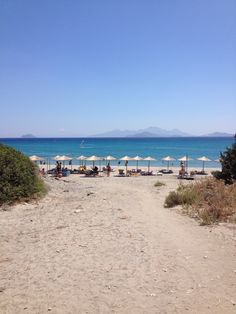 Kos Island. Kardamena. Beach Helona Resort.