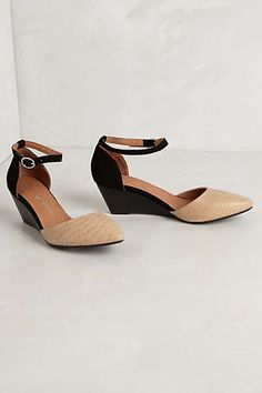 I need these - Anthropologie - Lovins Wedges