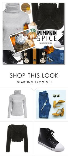 """""""Pumpkin Spice Style"""" by svijetlana ❤ liked on Polyvore featuring polyvoreeditorial, pss and twinkledeals"""