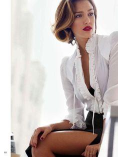 Jessica Alba - Glamour Netherlands Magazine (November 2015)