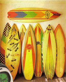 vintage surfboards