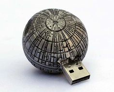 Star Wars Death Star USB Drive. I want 'dis!!!