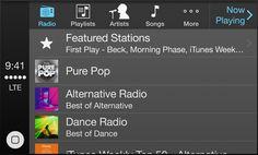 Apple - CarPlay streaming Internet radio