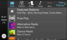 Apple - CarPlay streaming Internet radio