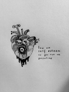 lyrics from 'gasoline' by halsey. by @maya876876