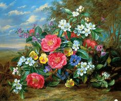 """""""Pansies, Peonies, and Blossoms"""""""