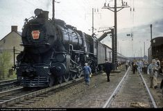 RailPictures.Net Photo: PRR 7133 Pennsylvania Railroad Steam 4-6-2 at Parkesburg, Pennsylvania by John Dziobko www.godfatherrails.com