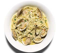 The briny juices from the clams help to flavor this brothy sauce—the fresher the clams, the better the dish.