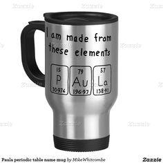 Eric periodic table name mug periodic table paula periodic table name mug urtaz Choice Image