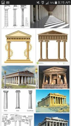 They all count Classical Architecture, Count, Pergola, Greek, Outdoor Structures, Classic Architecture, Arbors