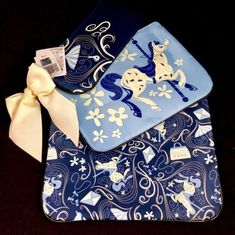 #disney Disney Parks Mary Poppins Carousel Travel Cosmetic Makeup Bags Set Of 3 NEW please retweet