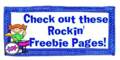 I had some of my rockin' friends link up their Freebie pages in this linky from Rockin' Teacher Materials