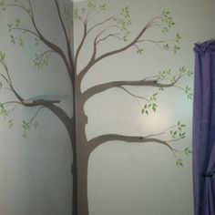 Our family tree for our baby girl J's nursery