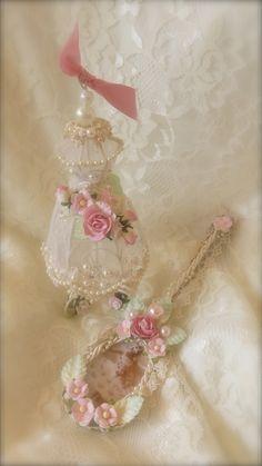 Dress+Form+Ornament+&+Altered+Spoon - Scrapbook.com