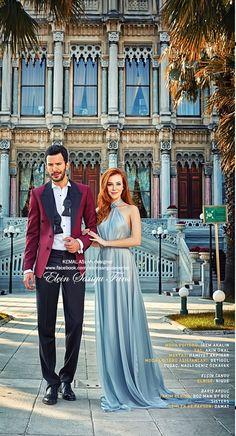 "Photoshoot For ""Ä°stanbulLife"" Magazine December Turkish Men, Turkish Fashion, Turkish Actors, Tv Show Couples, Elcin Sangu, Fashion Design Portfolio, Cute Love Couple, Gq, Hairstyle"
