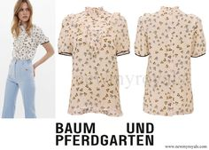 Crown Princess Mary wears Baum und Pferdgarten Melina Blouse