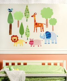 WALLIES | Daily deals for moms, babies and kids - more neat wall art for grandbaby's room.