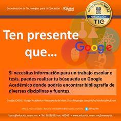¿Estás buscando información confiable? Esto te puede interesar. #BecasEducaTIC