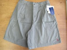 Ralph Lauren Polo Sport Shorts Army Green Gray 8 Misses