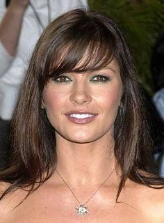 round  shaped face hairstyles bangs--You can check up with celebrities like Catherine Zeta Jones, Cameron Diaz, Venessa Williams and Kristen Dunst.