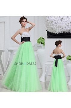 Prom Dress Formal Dresses #green