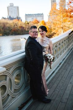 """""""Our wedding was a snapshot, a tiny peek into the uncertainty that so many LGBTQ couples are now facing, and we refuse to reduce our pride. We refuse to put our love on hold. In fact, we're going to live it even louder. There's a special kind of power in that that belongs to all of us, and we feel so lucky that it was such a big part of our celebration."""""""