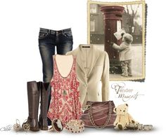 """These Boots are made for walkin"" by chloe-813 ❤ liked on Polyvore"
