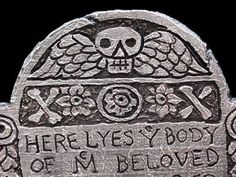 Awesome styrofoam tombstones