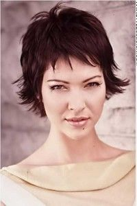 A mixture of beautiful short hairstyles