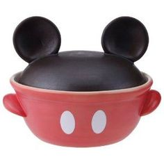 Rakuten: Tokoname-yaki Mickey Mouse casserole-9 SAN1815- Shopping Japanese products from Japan