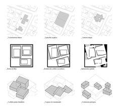 Biocenose & Biotope by Raphael Masson Architecture Concept Diagram, Pavilion Architecture, Architecture Visualization, Architecture Graphics, Architecture Portfolio, Architecture Drawings, Architecture Plan, Residential Architecture, Residential Complex