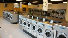 Belmont Eco Laundry...  Spendy but kewl!
