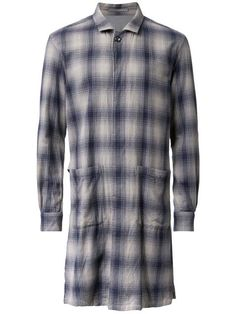 ATTACHMENT long plaid coat. #attachment #cloth #长款格纹外套
