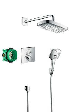 HANSGROHE Podtynkowy zestaw prysznicowy Raindance Select E/ ShowerSelect E 4 970,- zł