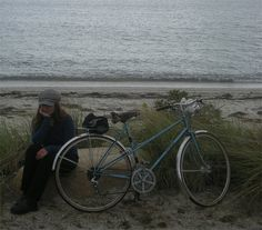 Motobecane Mixte, Shining Sea Trail by Lovely Bicycle!, via Flickr