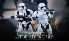 Check out the brand new Hot Toys Sixth Scale First Order Stormtroopers from Sideshow Collectibles. Start building your First Order Stormtrooper army today!