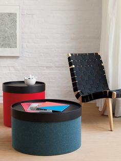 Drum Pouf   Designed by Softline Design Team