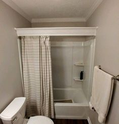 Tips, methods, also manual when it comes to obtaining the best outcome and coming up with the max usage of Restroom Renovation Shower Curtain With Valance, Shabby Chic Shower Curtain, Wood Valance, Valance Ideas, Shower Rod, Bathtub Shower, Shower Enclosure, Bathtub Walls, Diy Shower