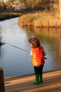 let my children experience everything they can! Their grandpa will take them fishing :)