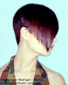 Photo of hairstyle with very short back