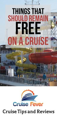 Should these things remain free on cruises? Cruise Tips, Cruise Travel, Cruise Vacation, Vacations, Travel Info, Travel Guides, Travel Tips, Travel Destinations, Overseas Adventure Travel