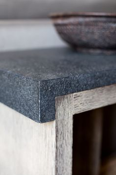 Tristan Auer - COUNTERTOP DETAIL, STONE and TIMBER