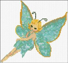 Small fairy - download Embroidery Kit 932