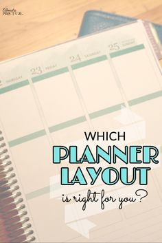 The planner layout that you choose can make a difference in your productivity. Things to consider when picking a calendar to fit your needs. via @AlmostPractical