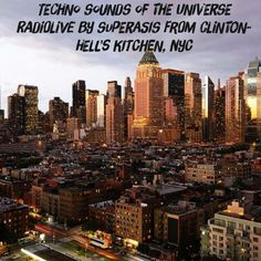 """Check out """"192.-Sounds of the Universe RadioShow by Superasis@Live from Clinton-Hell's Kitchen, NYC#05.05.16"""" by SUPERASIS on Mixcloud"""