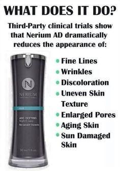 Night cream Sun Damaged Skin, Nerium, Clinic, Personal Care, Skin Care, Cream, Night, Creme Caramel, Self Care