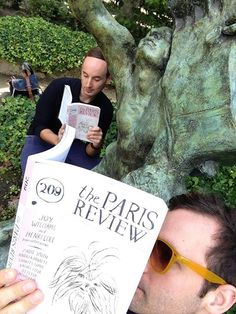 We #ReadEverywhere: At the Musée Rodin, Paris, among the ghosts of Orpheus, Rodin, Rilke, Mapplethorpe, and in the footsteps of the inimitable Henri Cole. But first, let us take a selfie.